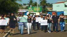 PROTESTO CONTRA EXTINÇÃO DO HDT