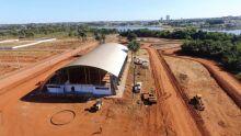 Complexo Esportivo Beira Lago está sendo contruído em Araguaína