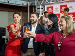 Família Toledo comemora crescimento da empresa no Tocantins.
